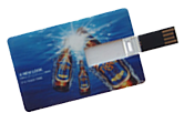 USB Flash Drive slide card