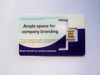 credit card size paper web key