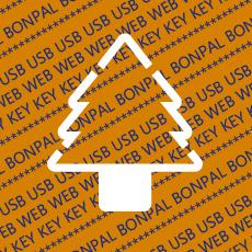 USB Webkey Paper Diecut 016