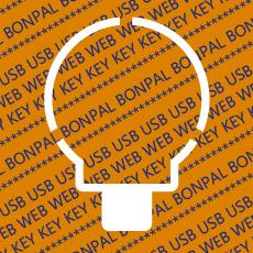 USB Webkey Paper Diecut 017